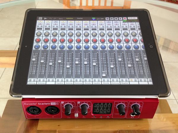 musica in mobilità: registrare con l'ipad   www.musimac.it